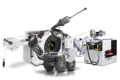 Jetting-CCTV Vehicle Assembly System (System for Laterals)